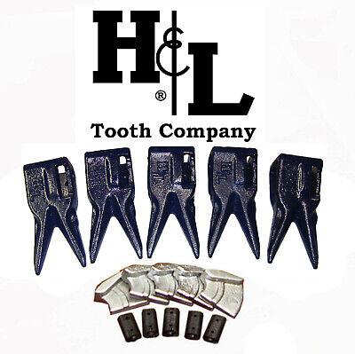 233tt7 Bucket Teeth By Hl Fits 230 Series Adapters Hammerless Conversion 233