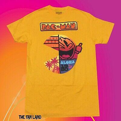 New Pac-Man Aloha 1980 Classic Arcade Game Vintage Mens T-Shirt
