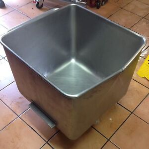 200 Litre stainless steel food processing bin on wheels. Carina Brisbane South East Preview