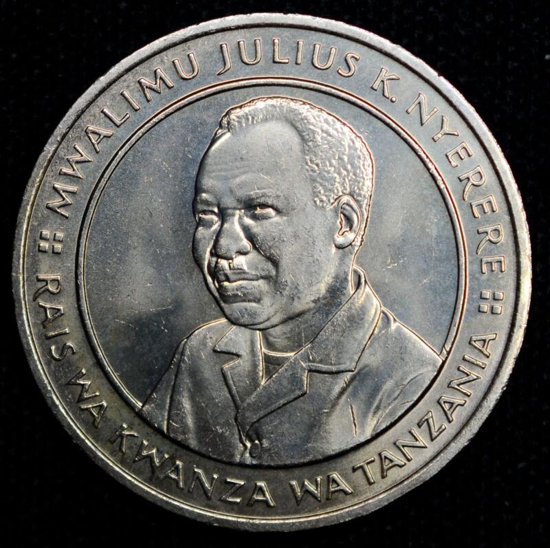 Tanzania 20Sh (1981)ND CH BU copper-nickel KM#13 20th Anniv Independence