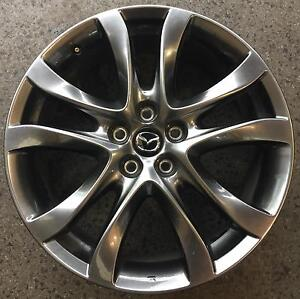 "4x 19"" INCH MAZDA 3 WHEELS SHADOW CHROME (ORIGINAL'S) Ferntree Gully Knox Area Preview"