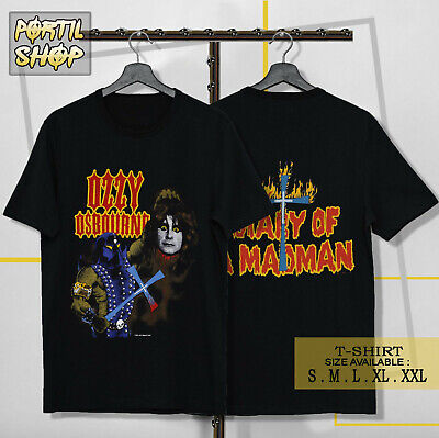 DIARY OF A MADMAN TOUR 1982 T SHIRT ROCK NEW OZZY OSBOURNE OFFICIAL LICENSED