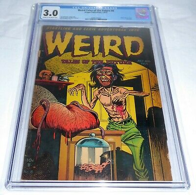 Weird Tales of the Future #8 CGC Universal Grade Comic Classic Horror Cover Last