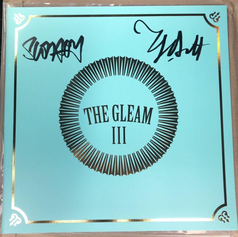 Avett Brothers signed Gleam III LP vinyl Autographed Record Store Release  RARE