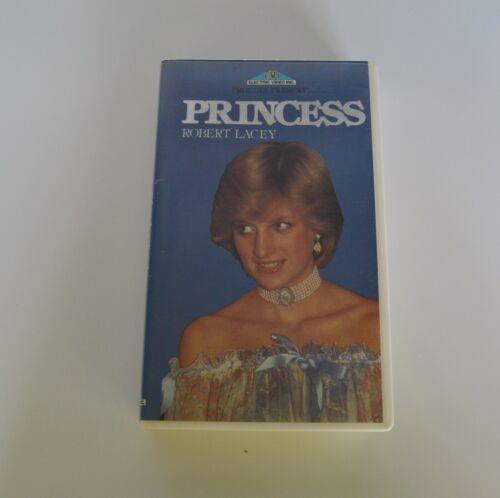 Princess VHS tape Princess Diana Rare Royal Family Robert Lacey
