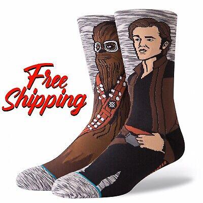 NEW! STANCE SOCKS - Star Wars - Han Solo Chewbacca Kessel Run
