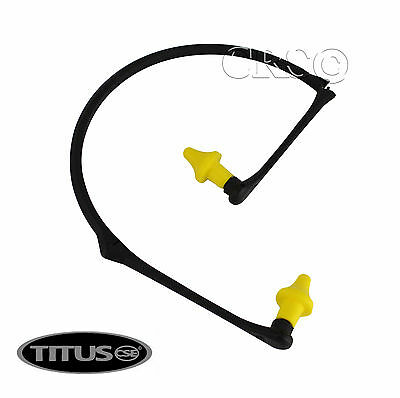 2 PC TITUS FOLDABLE EAR PLUGS NECK ...