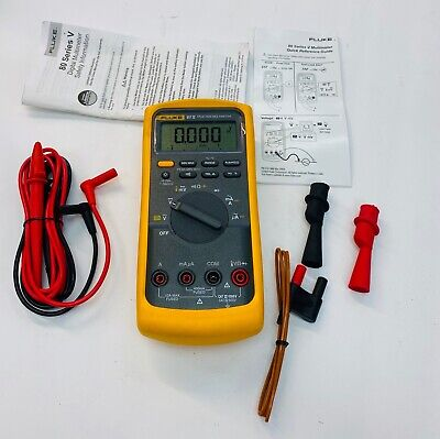 Fluke 87v 87 V Industrial True-rms Multimeter