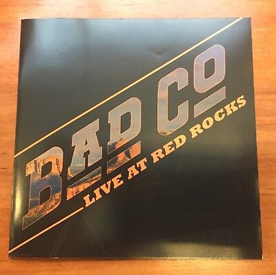 BAD COMPANY Live At Red Rocks 5/15/16 Sealed CD + DVD Black Crowes Rich Robinson