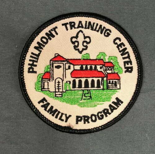 Philmont Training Center Family Program Patch BSA Boy Scouts of America