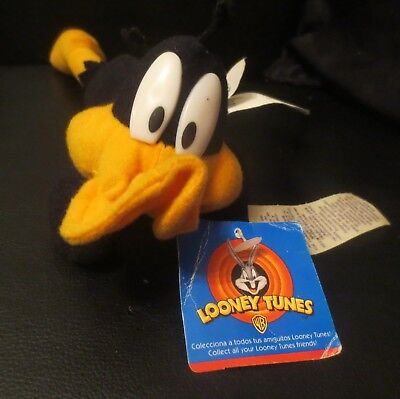 Warner Bros Looney Tunes Bean Bag Daffy Duck 1997