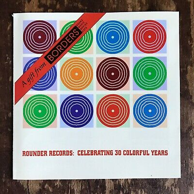 Rounder Records Celebrating 30 Years PROMO CD Alison Krauss Tony Rice IrmaThomas (Rounder Years)