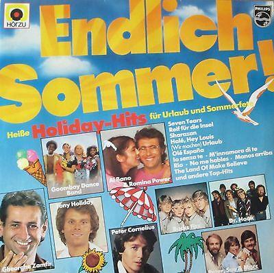 Endlich Sommer - Heiße Holiday Hits: Ulla Norden, Dr. Hook (Philips LP 1982)