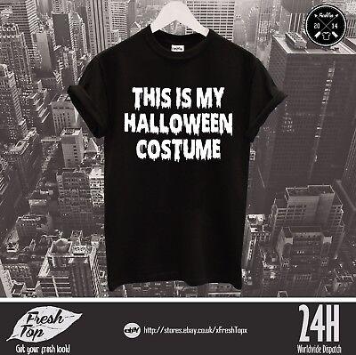 Das Ist Mein Halloween Kostüm T-Shirt Süßes oder Saures Scary Nacht Lustig