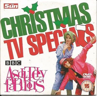 CHRISTMAS TV SPECIAL - ABSOLUTELY FABULOUS - SUN PROMO DVD - Halloween Specials Tv Shows