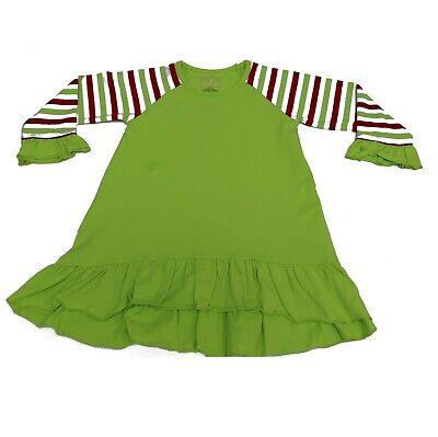 Santa Dresses For Girls (GIRLS Santa Holiday Elf L/S Knit)