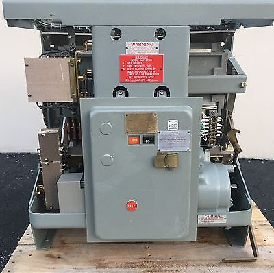 Navy Type Circuit Breaker AK-2-100N 3200 Amp EO DO