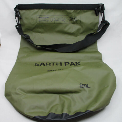Earth Pak -Waterproof Dry Bag - Roll Top Dry Compression Sack 20L