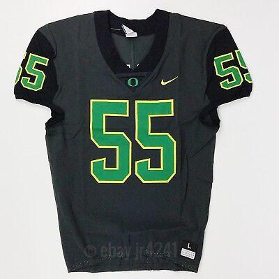 Custom Oregon Football Jersey - New Nike University of Oregon Ducks Custom Vapor Untouchable Jersey Men's L $175