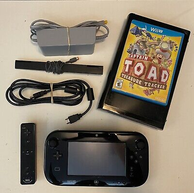 Nintendo Wii U Console Bundle - Gamepad, Motion Plus Controller & Game