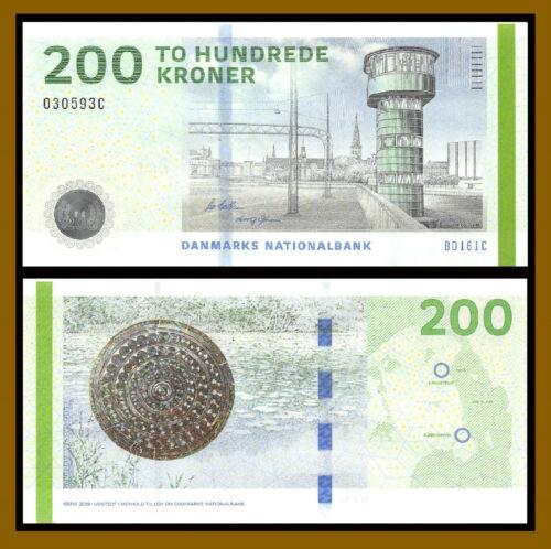 Denmark 200 Kroner, 2016 (2018) P-67f Unc