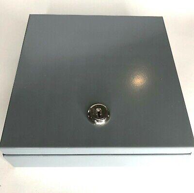 Mmf-wheeling 630-2700-04 Money Tray With Box No Key Gray 6.75 X 6.75