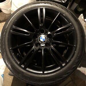 "BMW OEM - Original Mags / rims 18"" + summer tires Runflat"