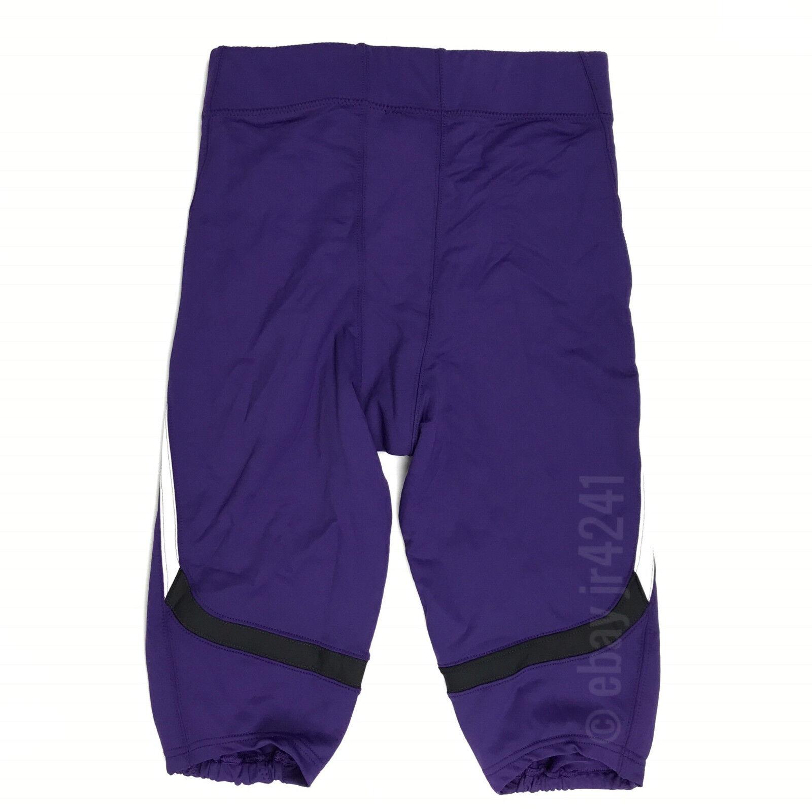 New Under Armour Renegade Football Game Pant Men/'s L Purple Northwestern