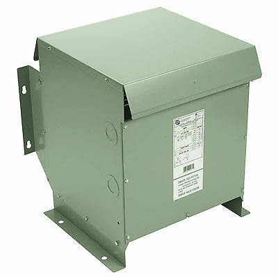 15 Kva Isolation Transformer 208-480y 3 Phase - Free Ship - In Stock