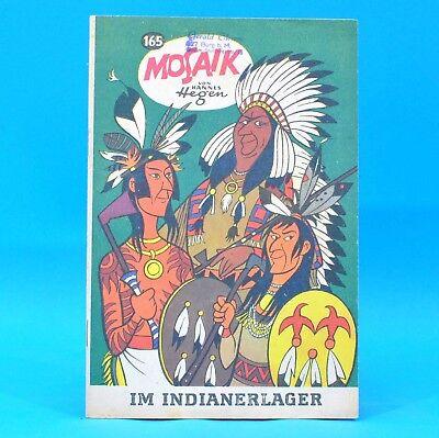Mosaik 165 Digedags Hannes Hegen Originalheft   DDR   Sammlung original MZ 12