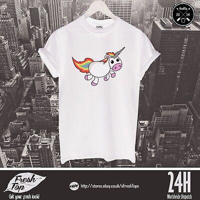 Kostüm Einhorn Rainbow T-Shirt Top Mädchen Girfriend Geschenk Süß - Einhorn Kostüm Männlich