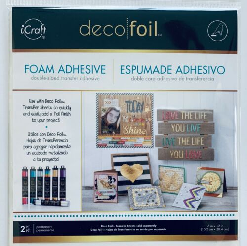 Deco Foil Foam Double-Sided Transfer Adhesive 2 PC