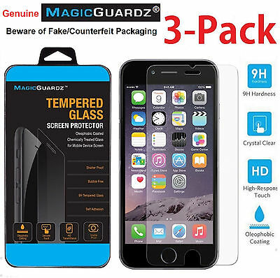 """Premium Real Tempered Glass Film Screen Protector for Apple 4.7"""" iPhone 7"""