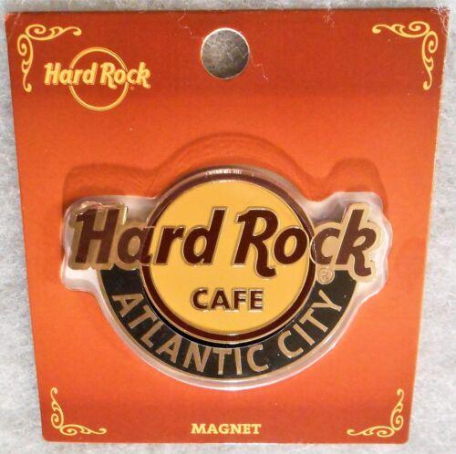 HARD ROCK CAFE ATLANTIC CITY CLASSIC LOGO MAGNET