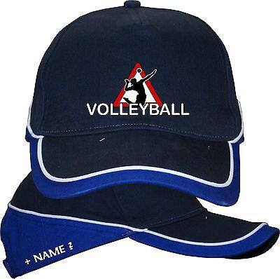 Volleyball Kappe Basecap Mütze Fanartikel Kopf Bekleidung T-Shirt im Shop 2