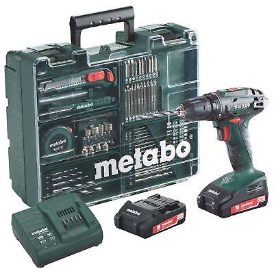 Metabo BS 18 Li Mobile Werkstatt mit 2 Akkus 2,0Ah - 602207880