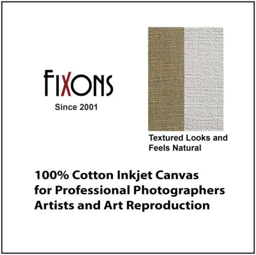 "Artistic Quality Matte Canvas for Canon Inkjet - 44""x40"