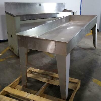 Lot Of Two Stainless Steel Leedal Type 316 Unbranded Commercial Sink
