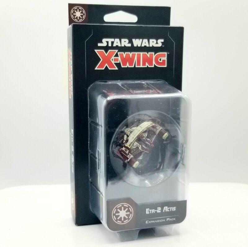 Star Wars X-wing Miniatures Game - ETA-2 Actis Expansion Pack NIB
