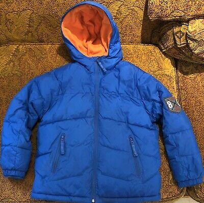 Gap Kids Blue Padded Coat Jacket Boys Age 8-9