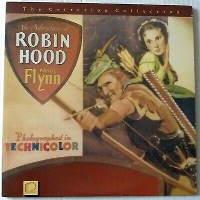 The Adventures of Robin Hood - Laserdisc - 12 INCH DISC - 1938