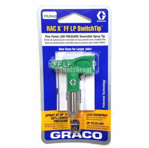 Graco Rac X FFLP 410 Fine Finish Paint Spray Tip Size 410