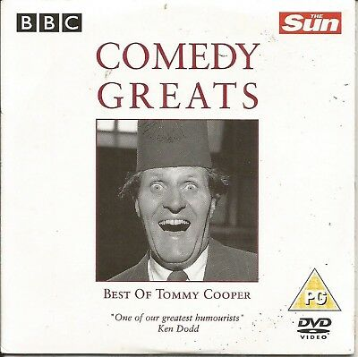 COMEDY GREATS - TOMMY COOPER - SUN PROMO DVD - Great Pg Halloween Movies