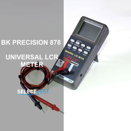 BK PRECISION 878 PORTABLE DUAL DISPLAY AUTORANGING LCR METER *LOOK* (REF.: 191G)