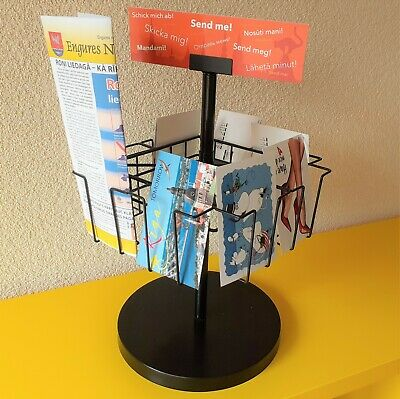 Postcard Greeting Card Brochure Holder Display Rack