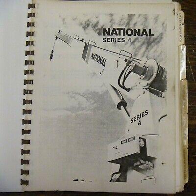 National Series 4 Crane 4t25 4t27 4t33 4t46 4t55 Factory Parts Catalog Manual