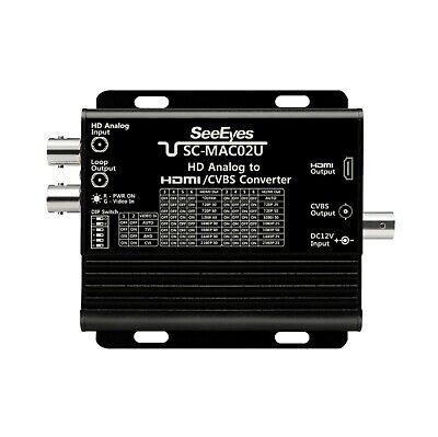 SeeEyes SC-MAC02U 8M TVI, CVI, AHD, CVBS to HDMI Converter