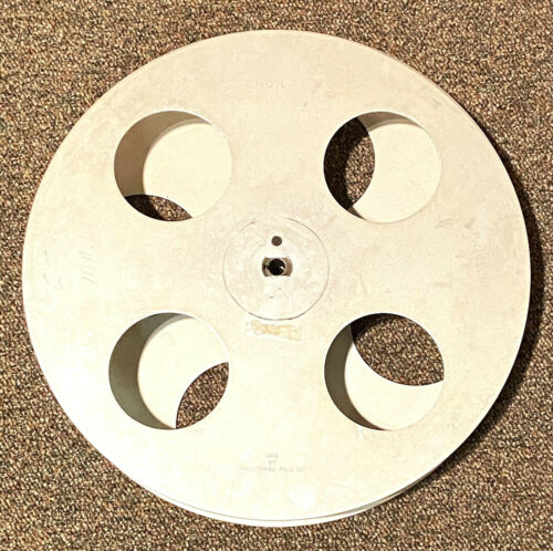 "70mm FILM ALUMINUM METAL SPLIT REEL 15"" - Vintage 65mm MGM Motion Picture Movie"