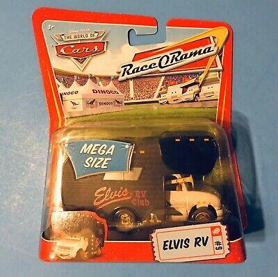 DISNEY PIXAR CARS #9 MEGA SIZE ELVIS RV RACE O RAMA - NIP MOC