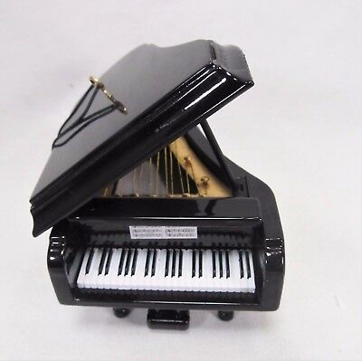 Piano Ornament Musical Instrument Collectible Holiday Home Decor